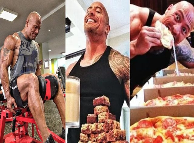 the rock diet and workout