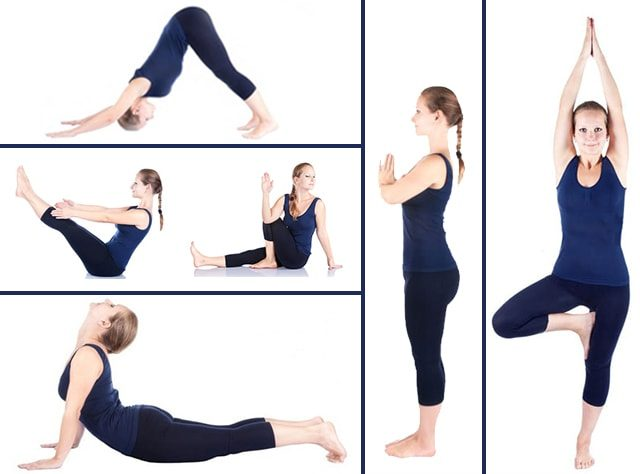 yoga positions for beginners