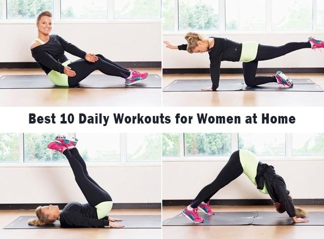 workouts for women at home