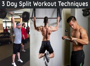 3 day split workout