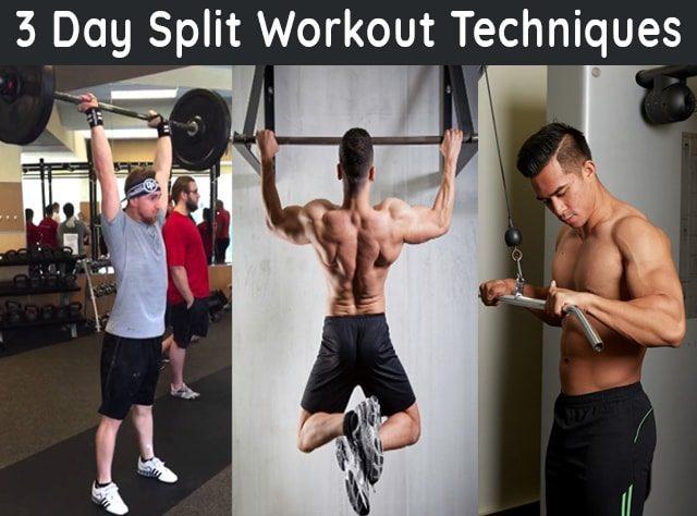 3 day split workout