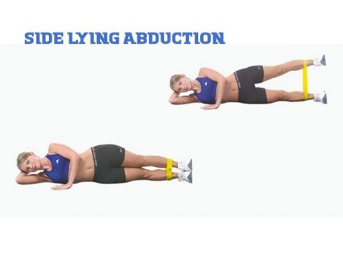Side lying abduction