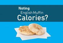 english muffine calories