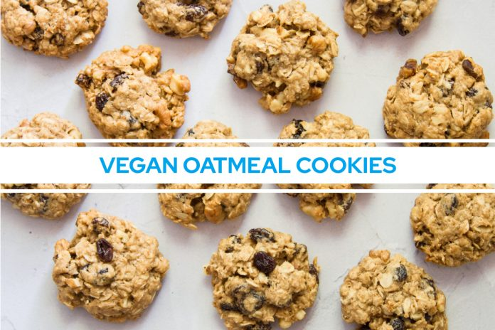 EVERYTHING YOU NEED TO KNOW ABOUT VEGAN OATMEAL COOKIES