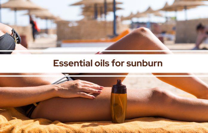 feature Essential oils for sunburn